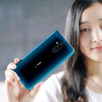 Купить Ulefone T2 6 ГБ + 128 ГБ Helio P70 Android 9,0 Global Band 4G мобильный телефон 6,7 ''4200mhA Face ID NFC Беспроводной зарядный смартфон