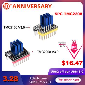 BIGTREETECH TMC2130 V3 0 SPI TMC2208 UART sterownik silnika krokowego części drukarki 3D dla SKR V1 3 V1 4 PRO mks gen L A4988 TMC2209 tanie i dobre opinie BIQU Driver TMC2130 Stepper Motor Driver 20 32*15 24mm DIR STP SPI Super Silent MKS GEN V1 4 MKS GEN L SKR Ramps 1 4