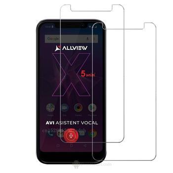 Película de cristal templado Protector de pantalla para Allview V3 Viper A9 PLUS Soul X5 mini Soul X5, Anti arañazos, Burbuja, extrema dureza