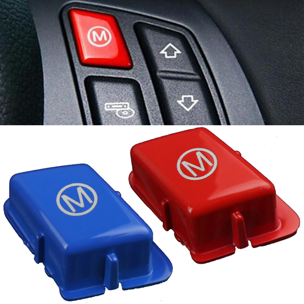 Car Steering Wheel M Mode Button For BMW 3 Series M3 E90 E92 E93 2007-2013 Auto Accessories Switch Peplacement Cap  Sports