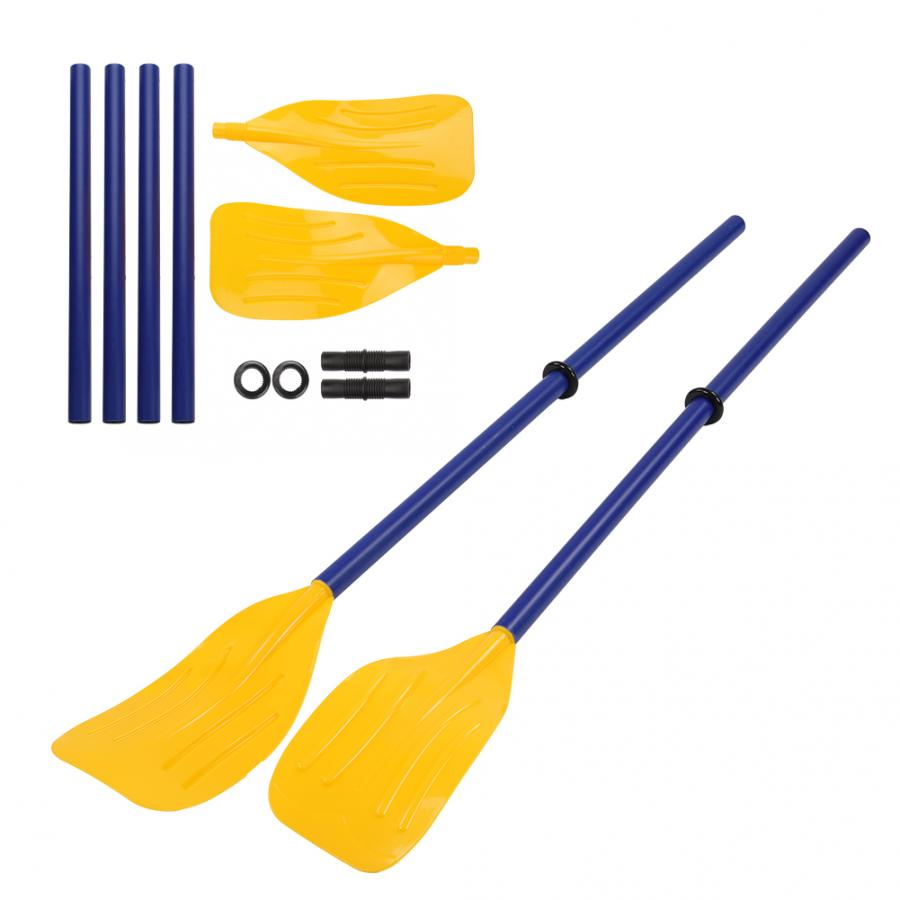 1PAIR INFLATABLE BOAT PADDLE DINGHY OARS CANOE KAYAK ALUMINUM ALLOY WATER PADDLE