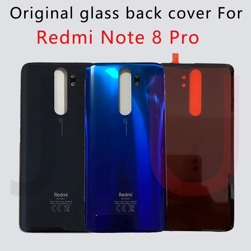 100% оригинальный новый Note 8 Pro задняя крышка батарейного отсека стеклянный корпус задний Чехол для Redmi Note 8 Pro задняя крышка батарейного отсека...