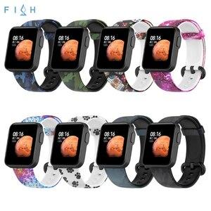 Image 2 - のためのxiaomi mi腕時計liteグローバル版の交換カラフルなリストバンドredmi腕時計mi腕時計lite sma
