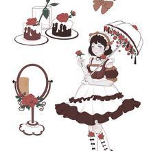 DIY Scrapbooking Decoration-Supplies Clear-Stamps Transparent Girl Kids Fun Lolita Christmas