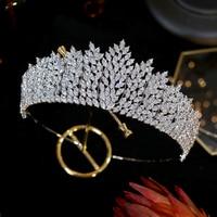 New cz tiara crystal headband brid