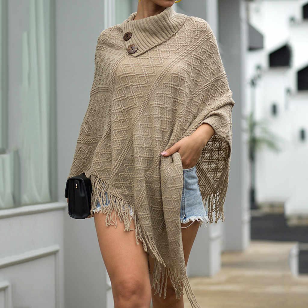 บิ๊กผ้าพันคอฤดูหนาวผ้าพันคอ cashmere poncho Cape shawl Ponchos และหมวกฤดูใบไม้ผลิใหม่แฟชั่นผู้หญิงเสื้อกันหนาว Hollow Cape # G3