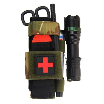 Hanging Bag Scissors Cover Outdoor First Aid Quick Slow Release Buckle Medical Military Tactical Emergency Tourniquet Strap Bag 1