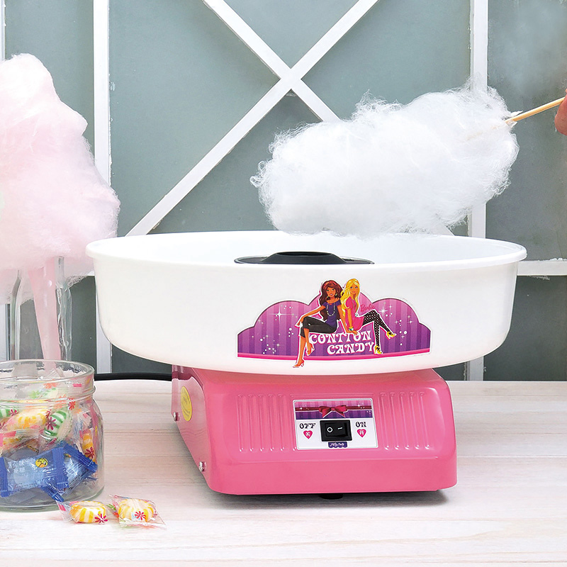 Mini electric fully-automatic fancy child birthday gift household commercial humbugs cotton candy machine sugar