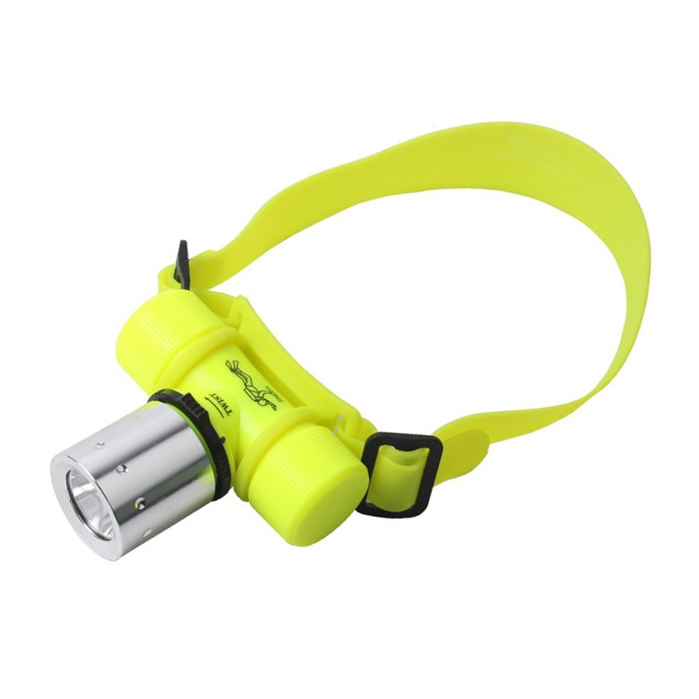 LESHP Diving Headlight Waterproof Underwater Lamp Super Bright LED Flashlight Rechargeable Torch Lamp For Camping Hiking