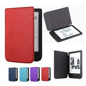 Gligle Ultra slim case cover for Pocketbook Touch lux 4 627 HD3 632 Basic2 616 Ereader +screen film(China)