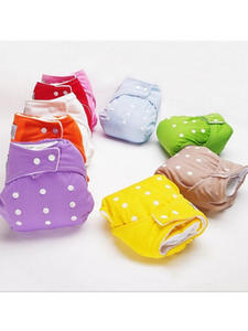 Cloth Diapers Soft-Covers Washable Nappies Adjustable Infant Boys Baby Girls