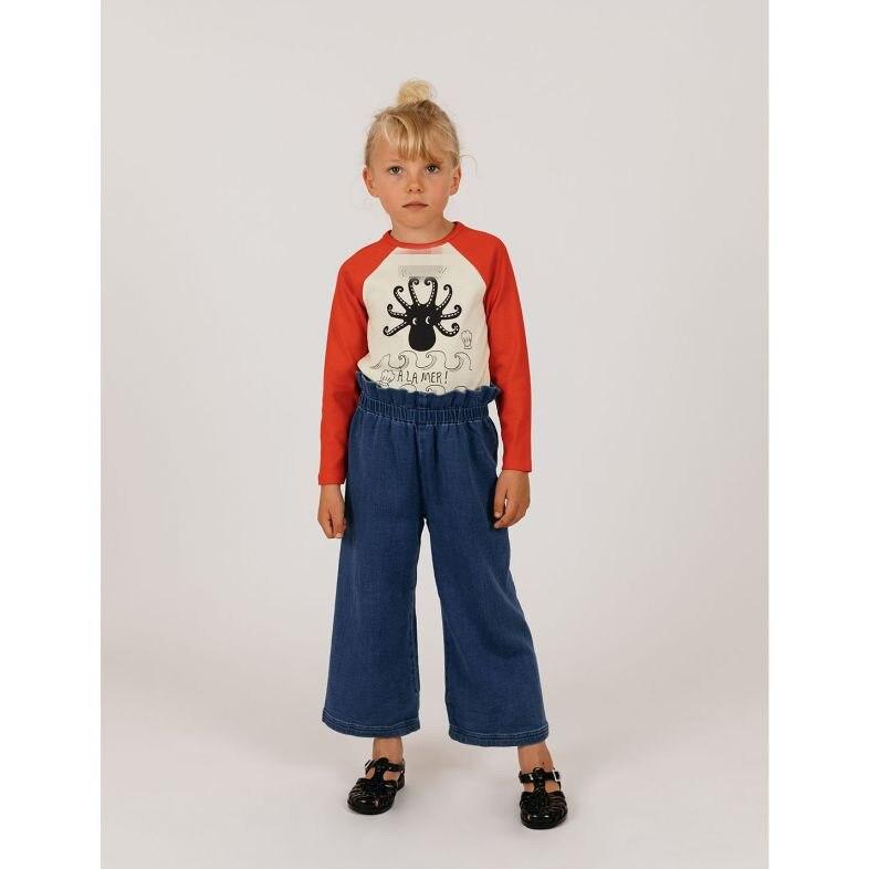 2021 Summer Children T-shirt Mini Brand Kids Short Sleeve Boy Alamer Octopus Casual Baby Girls Boys T Shirt Children Clothes 5