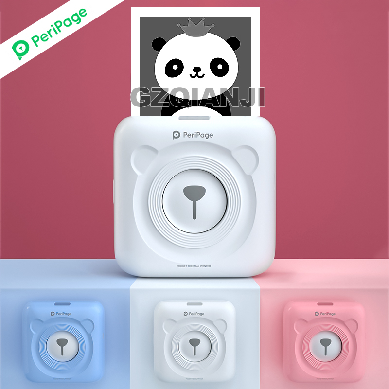 תמונה כיס מיני מדפסת תרמית Peripage A6 200 dpi 58mm תרמית Bluetooth Protable נייד קבלה טלפון מדפסת אנדרואיד iOS