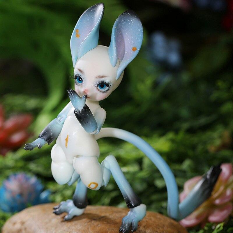 Fenny 1/8 Shugo fée Jerboa BJD SD poupée Yosd modèle bébé filles garçons yeux haute qualité jouets figurines en résine pour noël