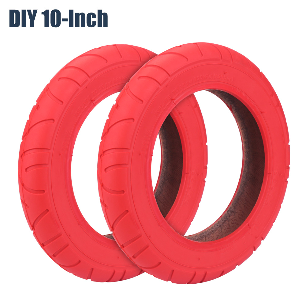 Electric Scooter 10 Inch Tire for Xiaomi M365 DIY Balance Cantilever Type Automatic Intelligent Red Outer Inner Tube Accessories