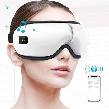 Eye Massager Portable Electric Bluetooth Eye Machine Heat Air Pressure Vibration Music Eye Fatigue Dry Eyes