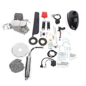 Image 1 - 100cc vélo moto moteur Kit 2 temps essence motorisé moto Kit pour bricolage vélo électrique ensemble complet vélo moteur à essence