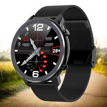 Fitness Sport Smart Watch Men Women ECG SmartWatch Heart Rate Monitor Full Round Touch IP68 Tracker Bracelet