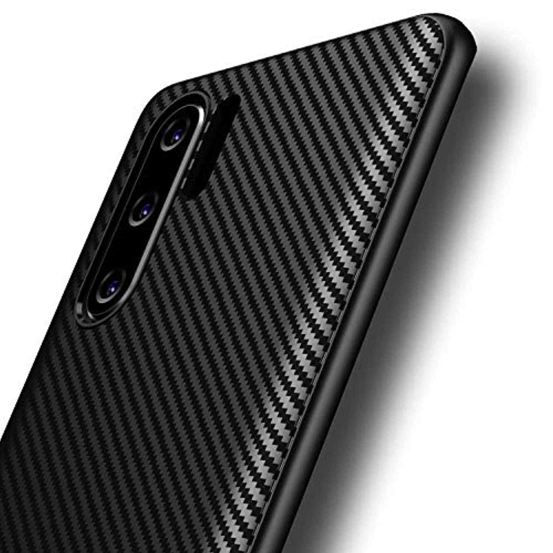 炭素繊維ケース huawei 社 P30 プロ P20 Lite 2019 メイト 20 ノヴァ 4 名誉 20 10 8C 7A 8A 8X 最大カバーソフト Caso Fundas 電話ケース