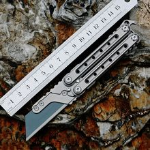 Titanium Alloy Utility Knife Small Practice Knife