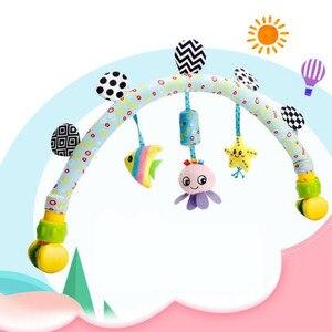 Image 3 - ホット販売素敵な旋盤カーシートベビーベッド赤ちゃん再生旅行ベビー幼児ベビーおもちゃ教育ガラガラ20% オフ