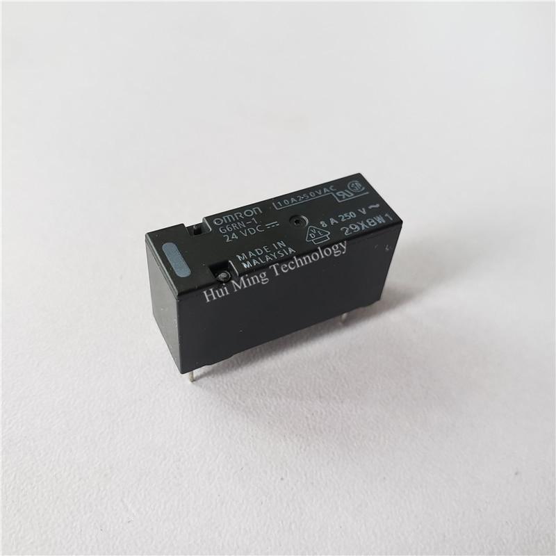 2pcs OMRON G2RL-2 12VDC 12V High Capacity Low Profile DPDT 8 Amp Power PCB Relay