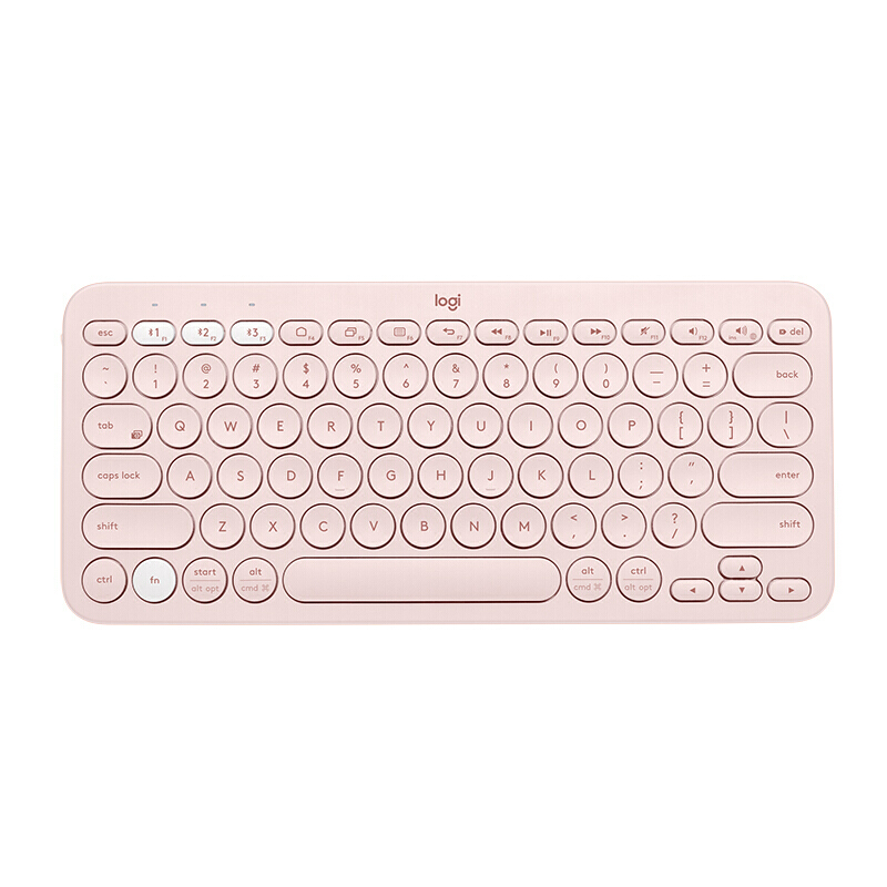 Image 5 - Logitech K380 Multi Device Bluetooth Wireless Keyboard Line Friends Pink Black Multi Colors Windows MacOS Android IOS Chrome OSKeyboards   - AliExpress