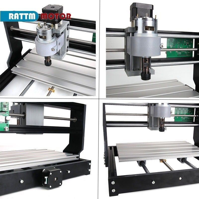 Image 5 - CNC 3018 Pro GRBL Control 3 Axis DIY Mini Machine Pcb Pvc Laser Engraving Milling Machine Wood RouterWoodworking Machinery Parts   -