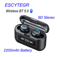 003 Wireless Bluetooth Earphone TWS Stereo Earbuds Noise Cancelling Headset With Mic Handfree for Mobile Phone