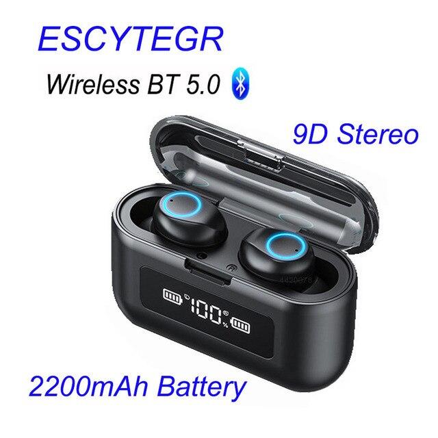 003 auricolare Bluetooth Wireless TWS auricolari Stereo cuffie con cancellazione del rumore con microfono vivavoce per telefono cellulare