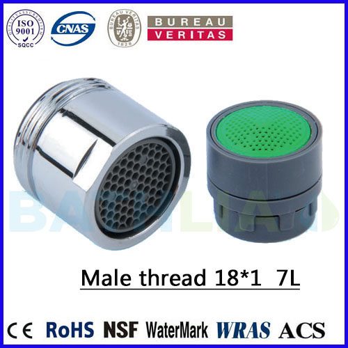 M18 Water Saving Faucet Aerator Tap Flow Reducer Regulator Male Thread M18*1 6L  Kitchen Faucet Nozzle Aerator Brass External