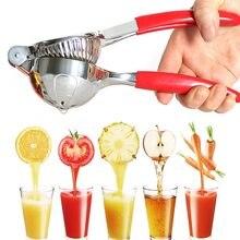 Manual portátil espremedor de suco mão pressão espremedor aço inoxidável cozinha ferramentas suco limão frutas pressionando estilo de vida saudável