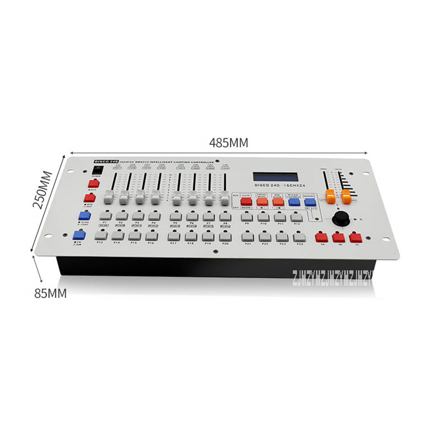 DMX240 16Channels DMX Controller Light Modulator Led Lighting Console DJ Controller Stage Bar Moving Head Spotlight Equipment