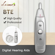 EP07 Best Hearing Aids Digital OE Listening Devices BTE Digital Hearing Aid Behind The Ear Hearing Amplifiers  DropShipping