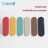 Orendil-Soporte de anillo mate para teléfono móvil, soporte Universal para dedo, pegatina trasera de varias bandas, para iphone 11 pro max