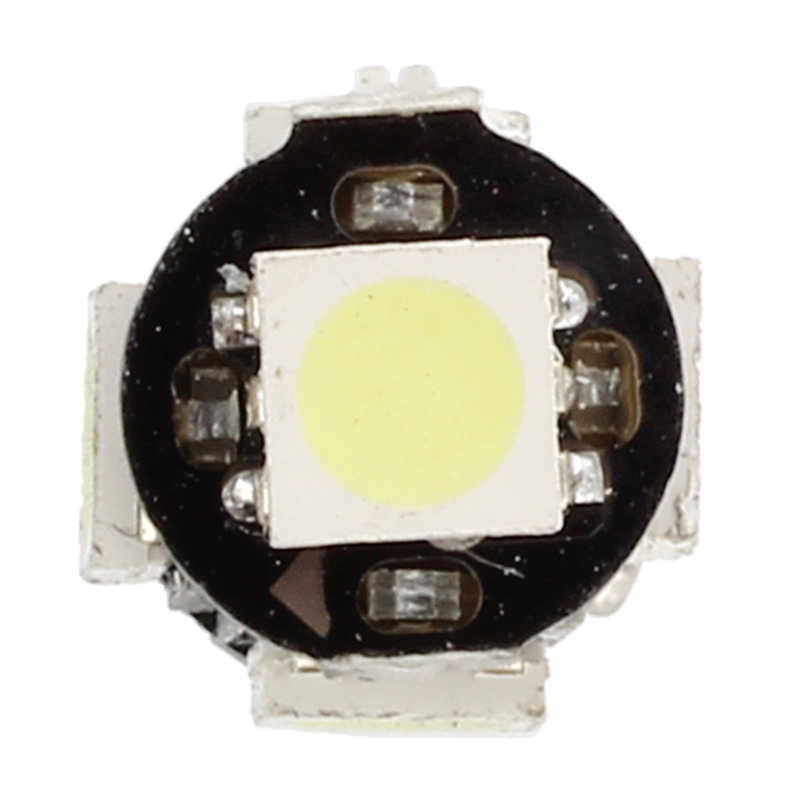 2x lâmpada 5 led 5050 smd ba9s h6w t4w branco anti odb código de erro lâmpada