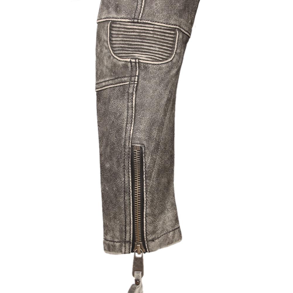 Hc19771addcc148949eae1990e85f9c59s Vintage Motorcycle Jacket Slim Fit Thick Men Leather Jacket 100% Cowhide Moto Biker Jacket Man Leather Coat Winter Warm M455