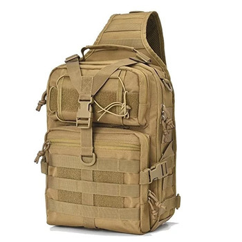 Tactical Bag Molle Fishing Hiking Backpacks Hunting Bags Sports Chest Sling Shoulder Backpack Military Army Waterproof Bag 20L men army waterproof chest bag military molle single shoulder bag crossbody bag for outdoor hiking camping hunting