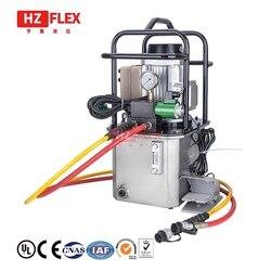 MER 3220K 380V 1.5KW 15L ultra wysokociśnieniowa pompa elektryczna automatyczny powrót oleju podwójny obwód oleju elektromagnetyczny zawór do pompy hydraulicznej w Narzędzia hydrauliczne od Narzędzia na