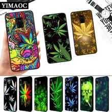Abstractionism Art high weed Silicone Soft Case for Samsung A3 A5 A6 Plus A7 A8 A9 A10 A20 A30 A50 A10S A30S A50S