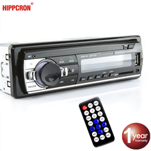 Autoradio Carro Hippcron MP3 Player Digital FM Bluetooth Música de Áudio USB / SD com Entrada AUX In Dash