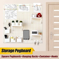 DIY Home Storage Organization Display Pegboard Storage Wall Mount Shelf For Dyson Vacuum Cleaner Storage Holder Home Organizer
