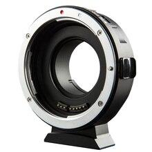 Viltrox Adaptador de lente Exif de enfoque automático EF M1 para objetivo Canon EOS EF EF S a cámara M4/3 GH5GK GH85GK GF7GK GX7 E M5 II E M10 III