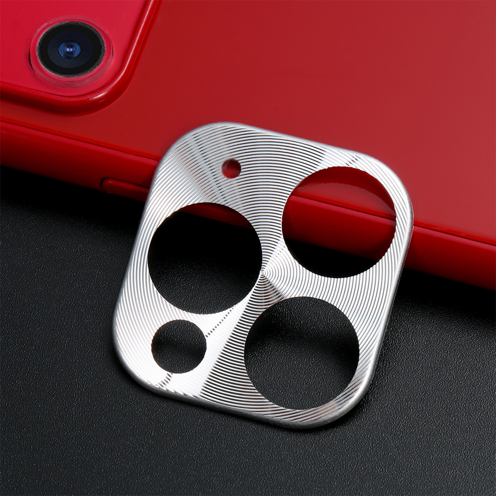 7 colors Metal Camera Lens Screen Protector Case Cover Protective Ring for iPhone 11 11 Pro