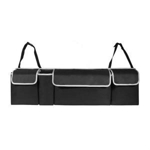 Image 3 - Car Organizer Trunk Backseat Adjustable Storage Bag Net High Capacity Multi use Oxford Back Interior Accessories Automobile Seat