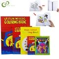 Забавная Волшебная книжка-раскраска, комедия, волшебные книжки-Раскрашивание, волшебные фокусы, иллюзия, детская игрушка, подарок, тур, улич...