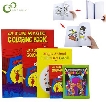 Magiczna książeczka do zabawy komedia magia kolorowanki magiczne sztuczki Illusion zabawki dla dzieci prezent wycieczka Close-up Street magiczne sztuczki ZXH tanie i dobre opinie JOKEJOLLY Papier CN (pochodzenie) Unisex WJ20190907004Z Nauka ŁATWE DO WYKONANIA Profesjonalne Beginner Dla magików Etap