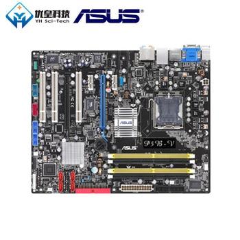 Asus P5B-V Intel G965 Original Used Desktop Motherboard Socket LGA 775 Core 2 Duo/Core2 Extreme/PentiumD DDR2 ATX