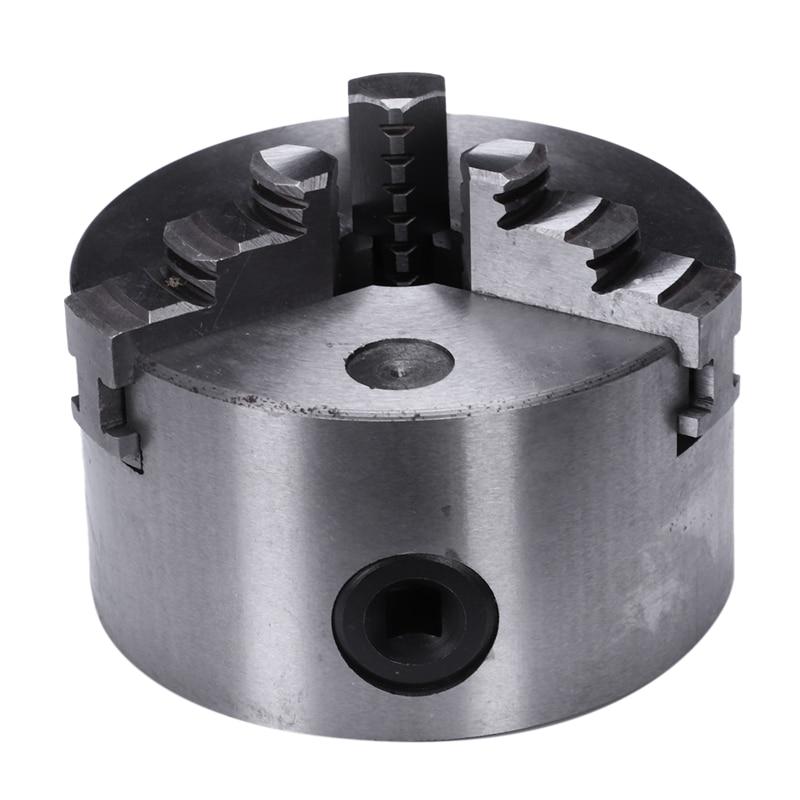 K11-100 4/'/' 3 Jaw Lathe Chuck Self centering Harden Steel 100mm Grinding Machine