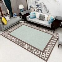 Klasyczny dywan w stylu chińskim antypoślizgowy żel antypoślizgowy aksamitny dywan domowy korytarz podkładka pod herbatę mata dywanowa do sypialni kuchnia w Dywan od Dom i ogród na